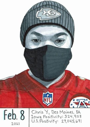 Masked Portrait - Chris Y