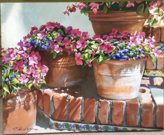 Terracotta Pots:  Carmel #1