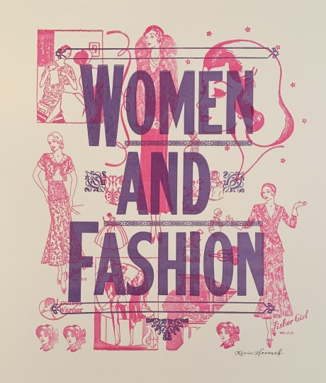 Women and Fashion Poster