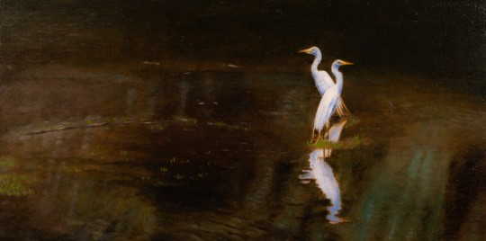 Great Egret Pairing