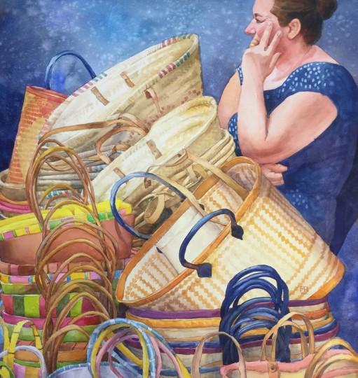 Basket Lady