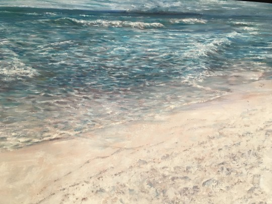 Pensacola Beach, oils 18x24