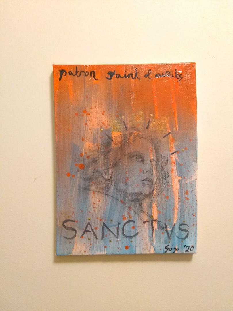 SANCTVS I - artwork by Francisco Gongora: