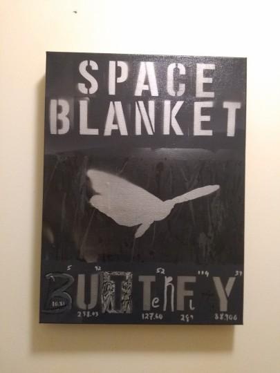 Space Blanket Butterfly