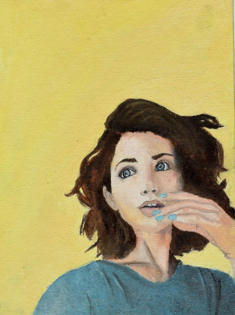 yellow - artwork by Alexcia Overbeck: