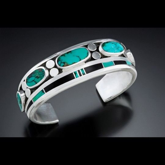 Sterlin and Turquoise bracelet