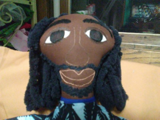 Prince Nippy, an Ethnic Fabric Doll