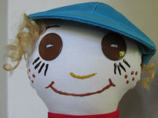 Connor, 15 inch Fabric Doll