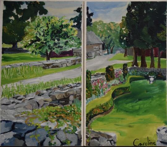 Sunken Gardens At Weir Fam