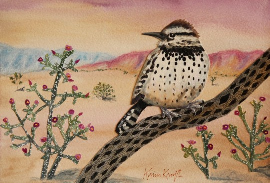 Cactus Wren of Joshua Tree National Park