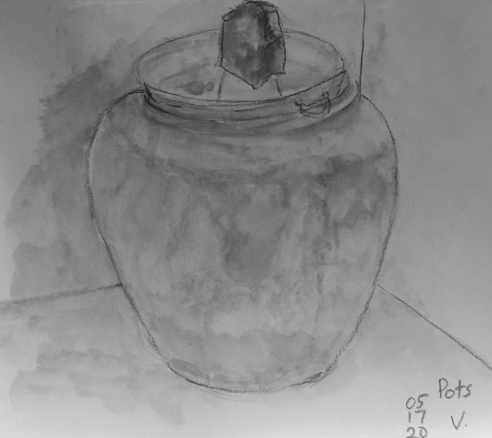 Huge pot