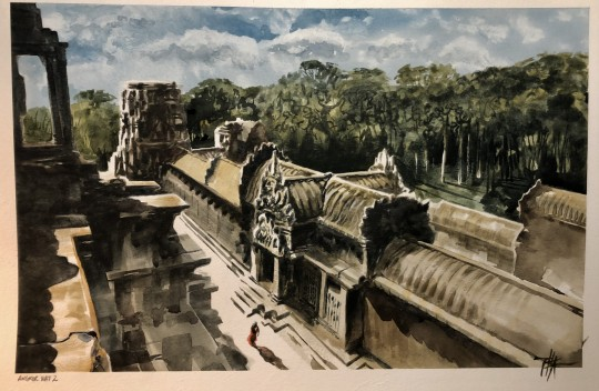 Sketch #2 for Angkor Wat