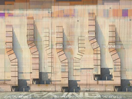 Corrugated Parking