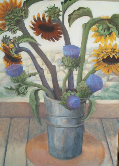 Sunflowers & Artichokes