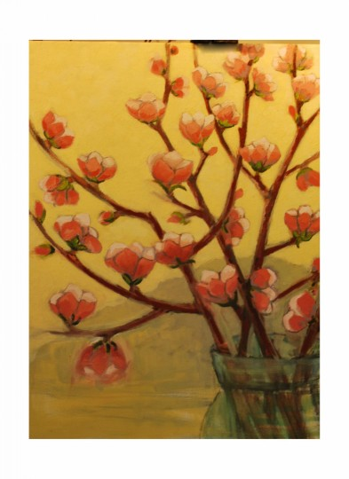 Plum Blossoms in Yellow