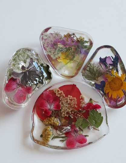 Set of Magnets-Spring Flowers