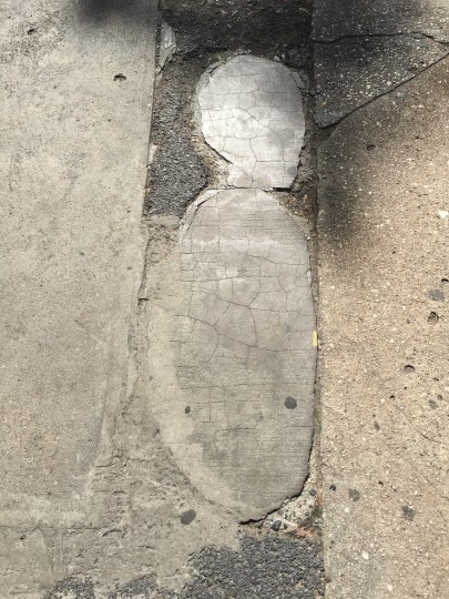 5th Ave. Sidewalk Baby