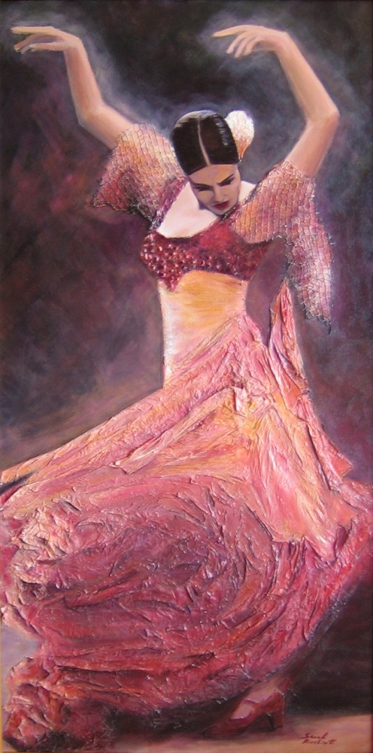 La Flamenca flamenco love passion dancer broken heart strength survival pain Spain gitana Sevilla