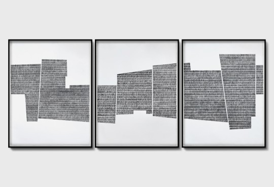 Continuum 231 Triptych