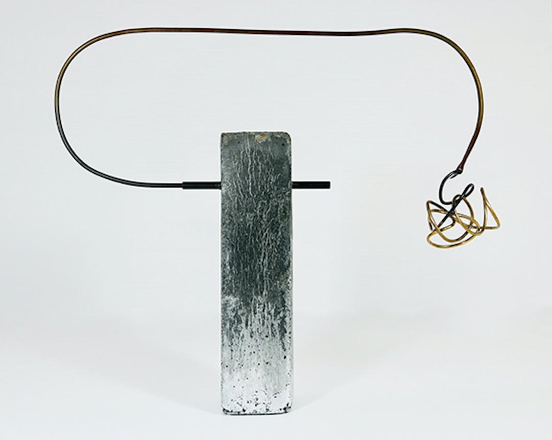 Archetype 2 Concrete Metal sculpture