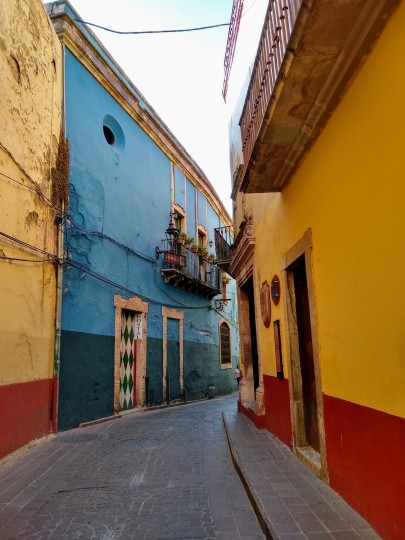 The colors of Guanajuato