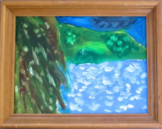 """Whitecapping(Angel Island)"""
