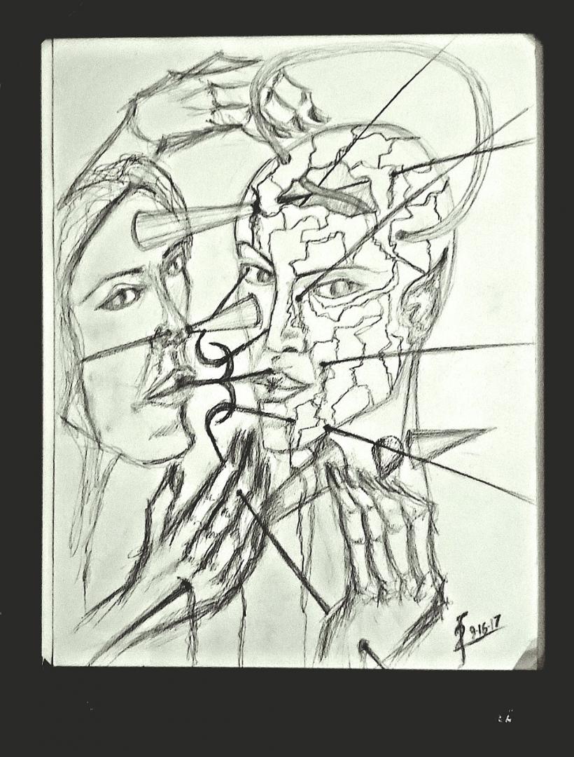 September 16 2017 - artwork by Francesco Fedele:  Paper