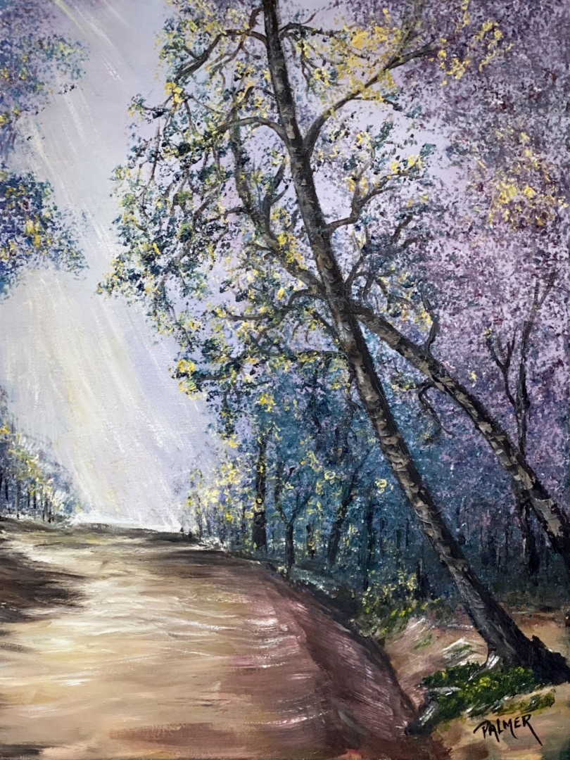 Your Journey journey oil painting forest