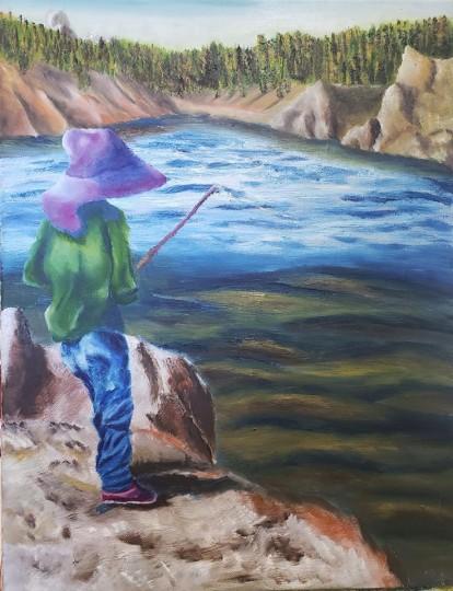 Emma Fishing Granite Reservoir