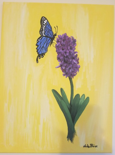 Hyacinth and Butterfly