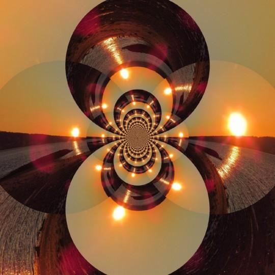 Sunset Kaliedescope