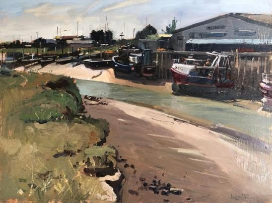 Low tide ,Rye