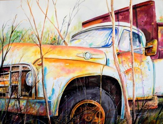 Forgotten Truck   Millbury, MA