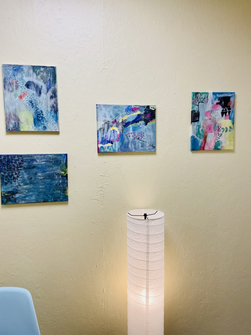 Abstracts Untitled - artwork by Melanie Paquette: