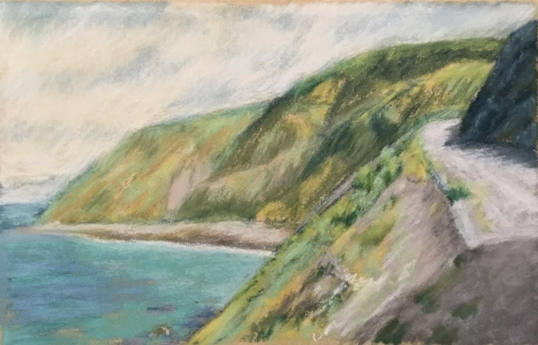 Coast Highway - artwork by Barbara Segen-Gould: