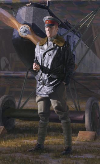 Self Portrait As a German Ace in 1918