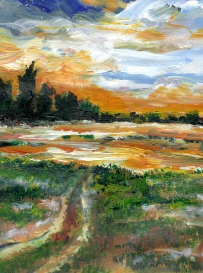 Ponderosa Marsh Deep Winter