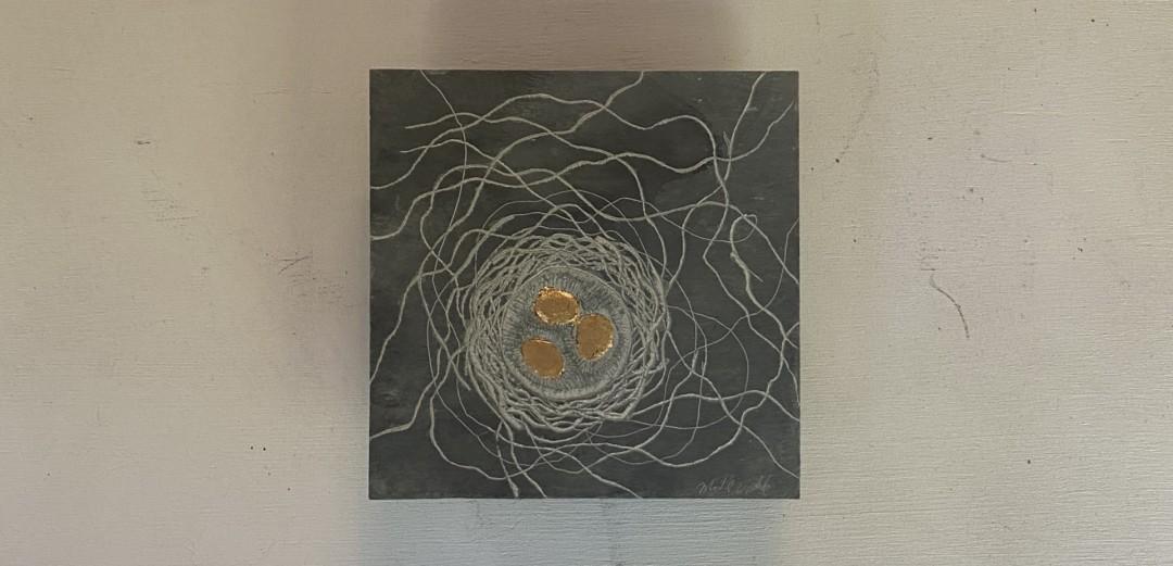 Nest  - artwork by Michael Updike: