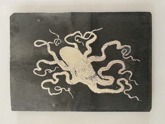 Silver a Octopus