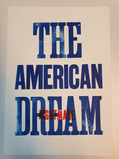 The American dream/nightmare