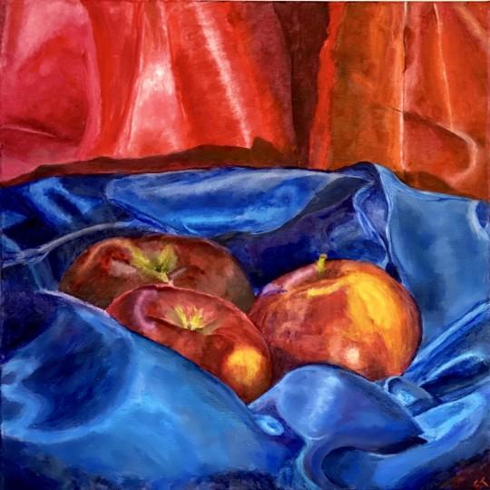 Nestling Apples