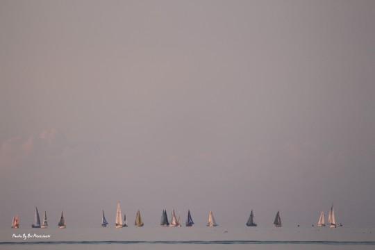 Sailing the open sea