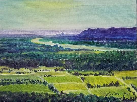 View Toward Avignon