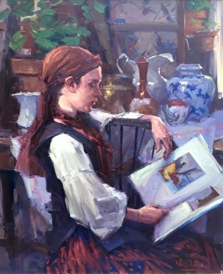 The Little Russian Girl