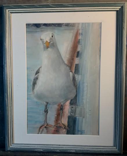 George on Board (framed)