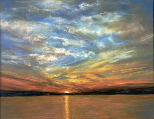 Sunset on Still Water