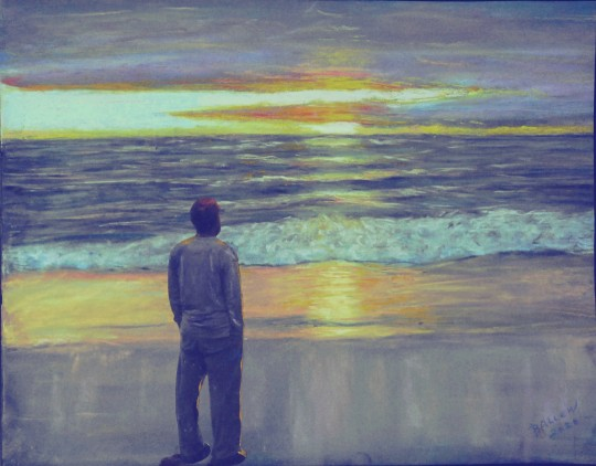 Mark on the Beach