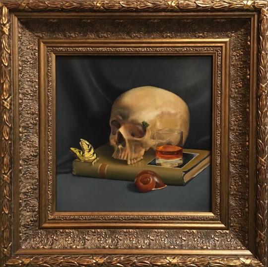 Vanitas with Skull