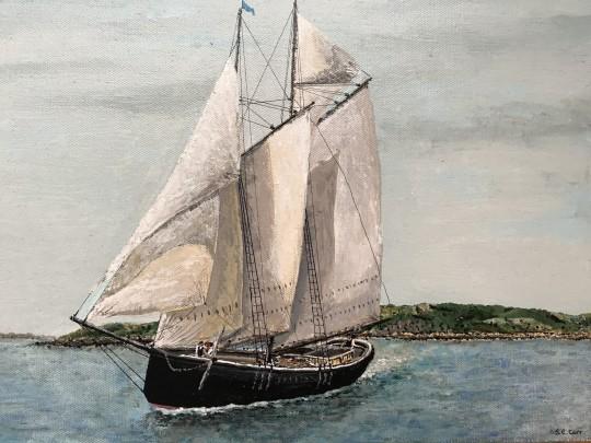Schooner ELLEN C. BURKE