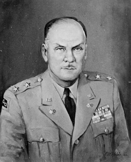 General George I. Back - Army Major General, Chief Signal Officer